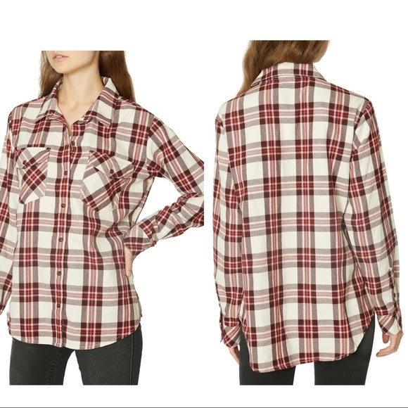 NWT Sanctuary Flannel Size Small