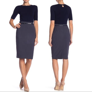 NWT $98 Amanda & Chelsea Pencil Skirt Size 10