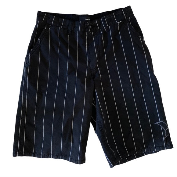 Hurley Striped Shorts Size 20
