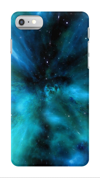Blue Space Galaxy - iPhone 7/7 Plus Case - AWpaints - 1