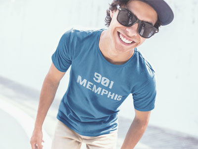 901 Memphis - Men's Short Sleeve T-Shirt - AWpaints - 1