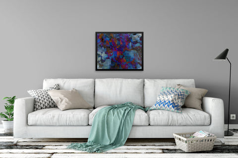 Abstract Face - Canvas Wrapped Art