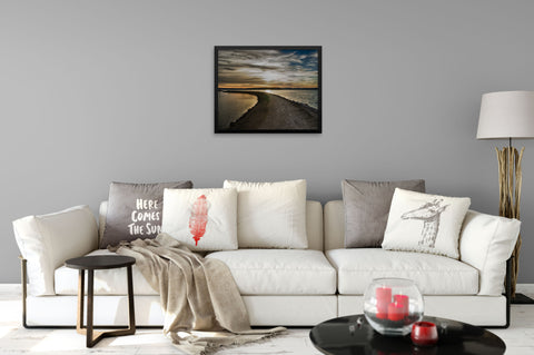 Black Sky - Framed Art Print