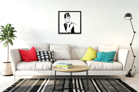 Breakfast at Tiffany's - Framed Art Print