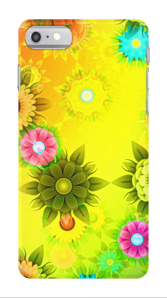 Abstract Flowers - iPhone 7/7 Plus Case - AWpaints - 1