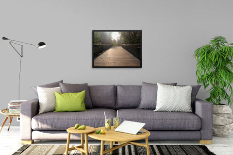 Center Bridge Sequel - Framed Art Print