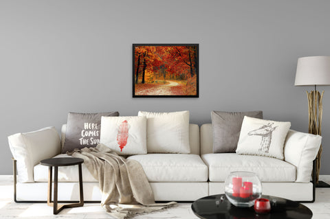 Cool Autumn Breeze - Framed Art Print