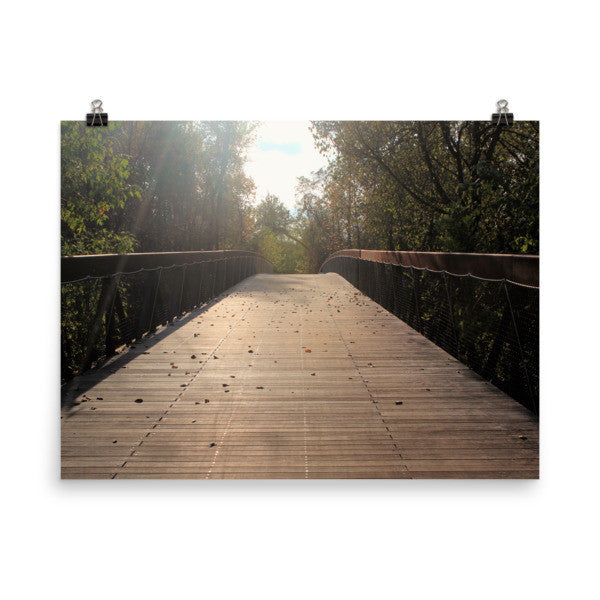 Center Bridge Sequel - Art Print - AWpaints - 1
