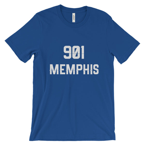 901 Memphis - Men's Short Sleeve T-Shirt - AWpaints - 2