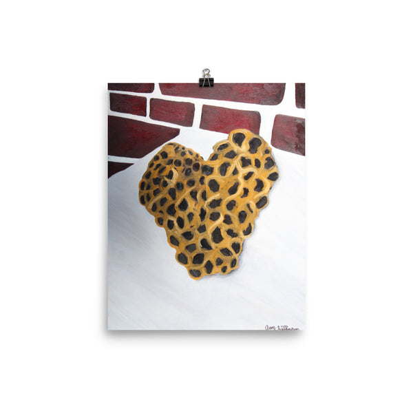 Bee Heart - Art Print
