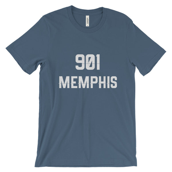 901 Memphis - Men's Short Sleeve T-Shirt - AWpaints - 9