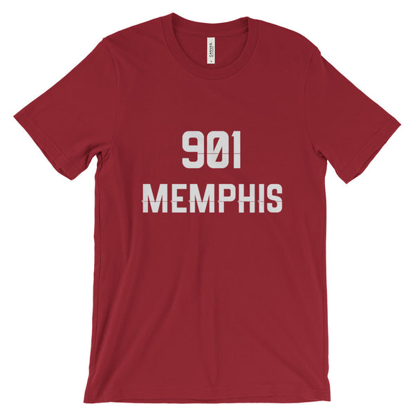 901 Memphis - Men's Short Sleeve T-Shirt - AWpaints - 14