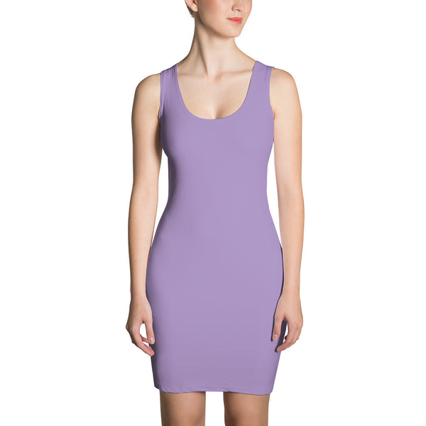 Pale Purple - Bodycon Dress