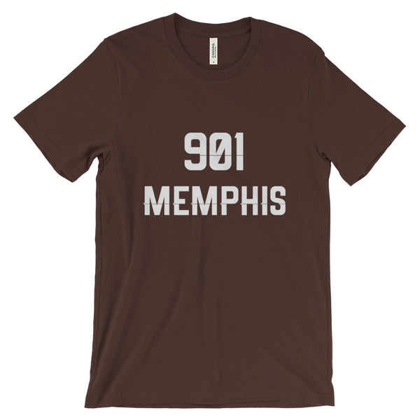901 Memphis - Men's Short Sleeve T-Shirt - AWpaints - 3