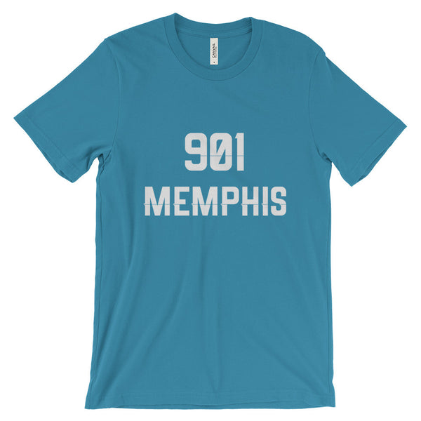 901 Memphis - Men's Short Sleeve T-Shirt - AWpaints - 12