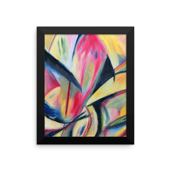 Spinning - Framed Art Print
