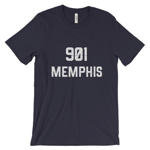 901 Memphis - Men's Short Sleeve T-Shirt - AWpaints - 7
