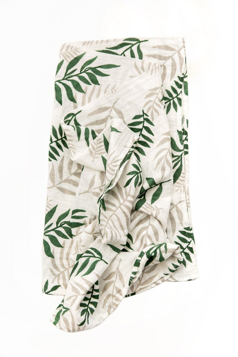 Jungle Fern Swaddle Wrap