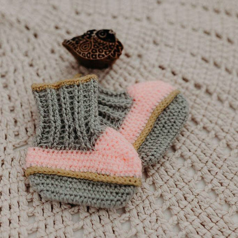 Children of the Tribe | Hideaway Knit Booties