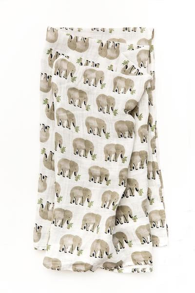 Elephant Swaddle Wrap