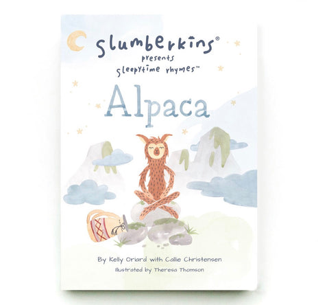 SLEEPYTIME RHYME BOOK | ALPACA