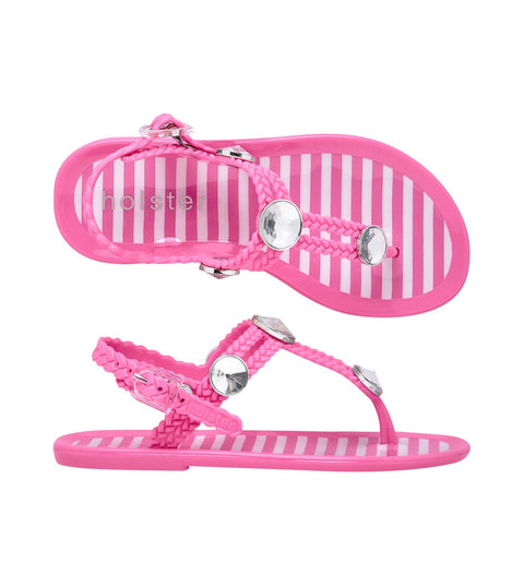 HOLSTER SANDALS | Kids St Tropez  - Bubblegum