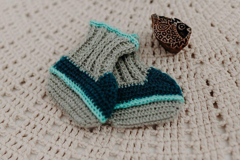 Children of the Tribe | Cove Knit Booties