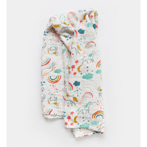 Unicorn Land Swaddle Blanket/Wrap