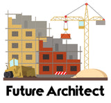 Future Architect Crane - kids t-shirt