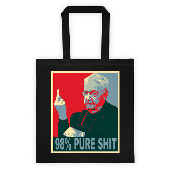 98% Pure Shit Tote bag