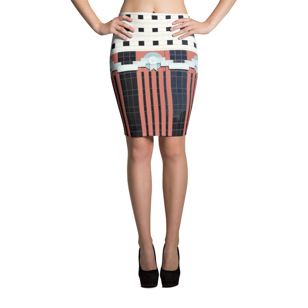 The Portland Building Skirt