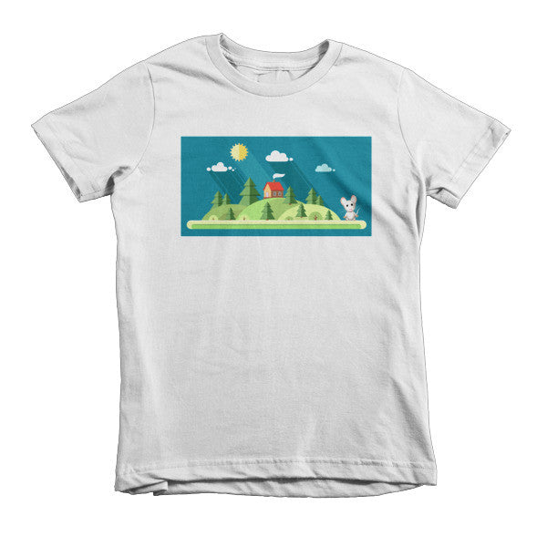 Country Mouse - kids t-shirt