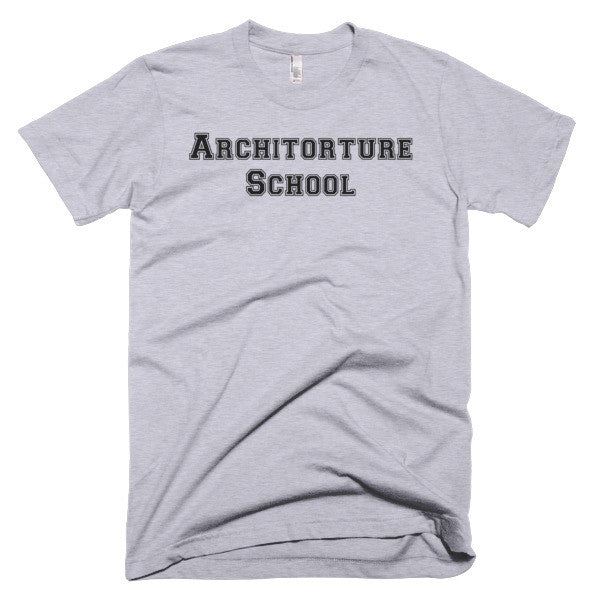 Architorture School - Short sleeve t-shirt