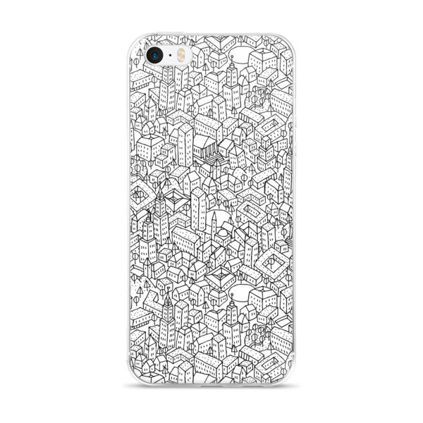 Sketchy City iPhone case