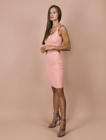 JANELLE powder rose dress