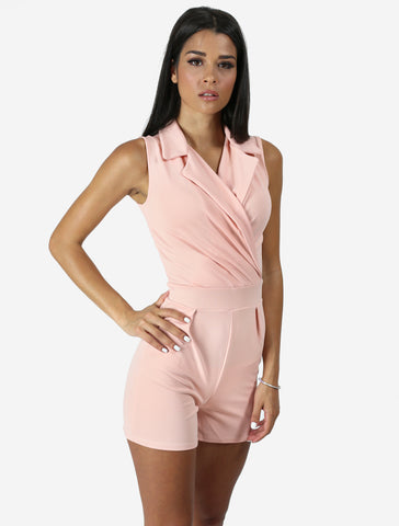 LAURA nude playsuit