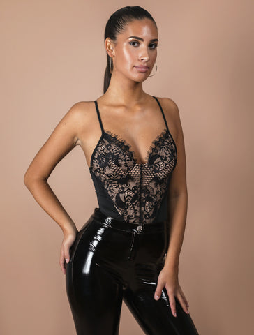 LEILA black bodysuit