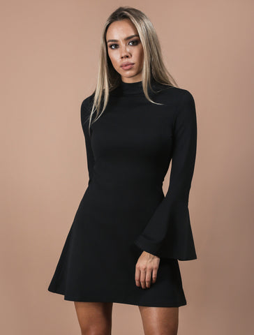 MICHELLE black dress