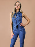NANCY denim jumpsuit