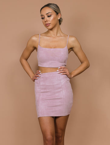 NATALY dusty pink set