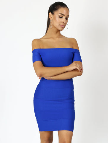 RAINA blue dress