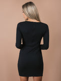 ROBIN black dress