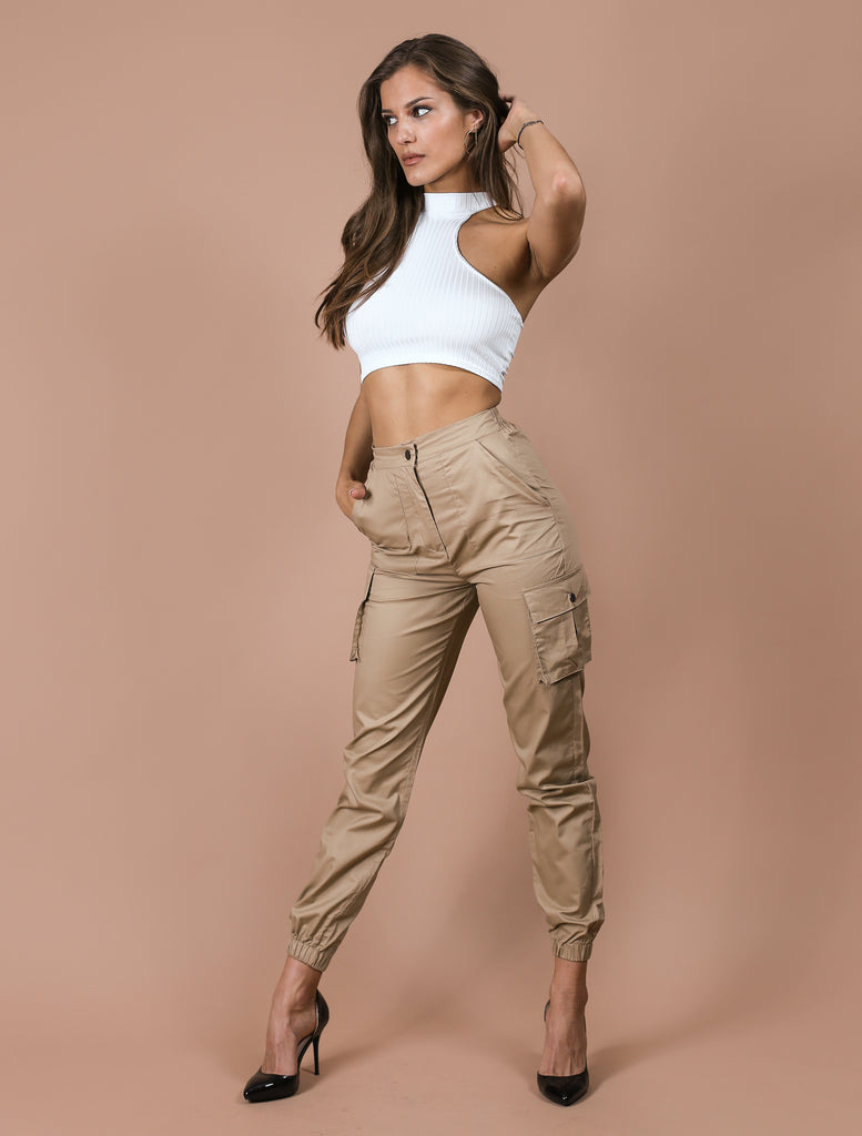 SHELBY cargo trousers