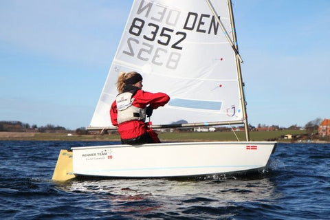 J-Sail for Optimist sailing dinghy