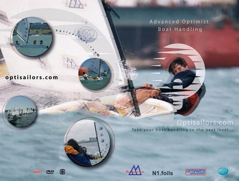 Optimist Sailing Handling Tactics DVD - English