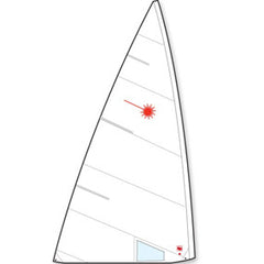 Laser Sail Standard by Hyde, Folded LAS94100 by Laser Performance