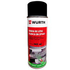 White Lithium Grease Spray by Wurth