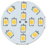 Light-Bulb LED G4 Bi-Pin 10-30v 12-SMD Warm-White