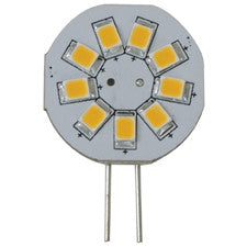 Light-Bulb LED G4 Bi-Pin 10-30v 9-SMD Warm-White