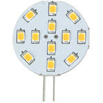 Light-Bulb LED G4 Bi-Pin Wafer Warm-White 12-SMD 12v